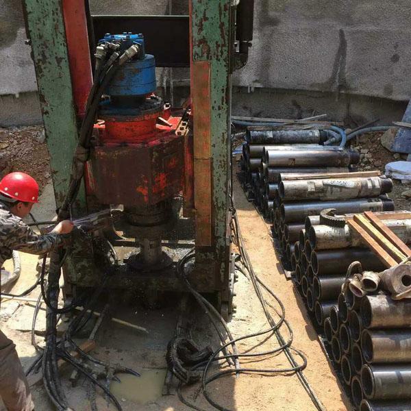 吉林省引水供水工程反井钻机施工